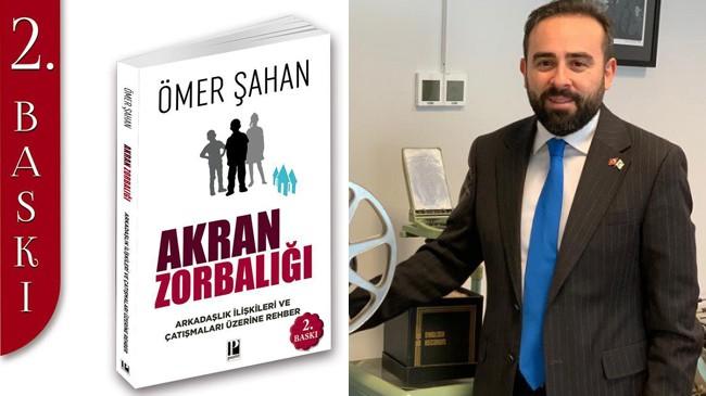 """Ömer Şahan'ın """"Akran Zorbalığı"""" isimli kitabına kısa zamanda 2. baskı"""