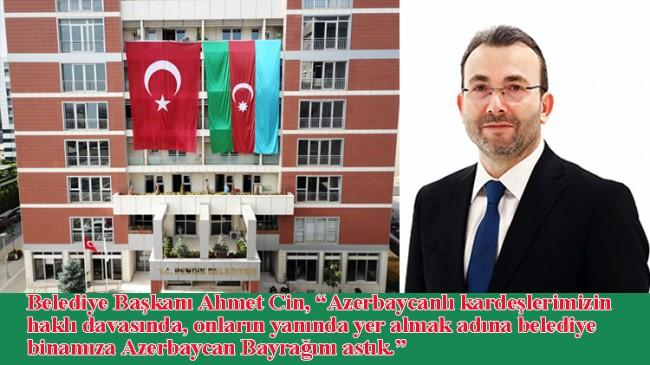 Pendik Belediyesi'nden Azerbaycan'a anlamlı bir destek