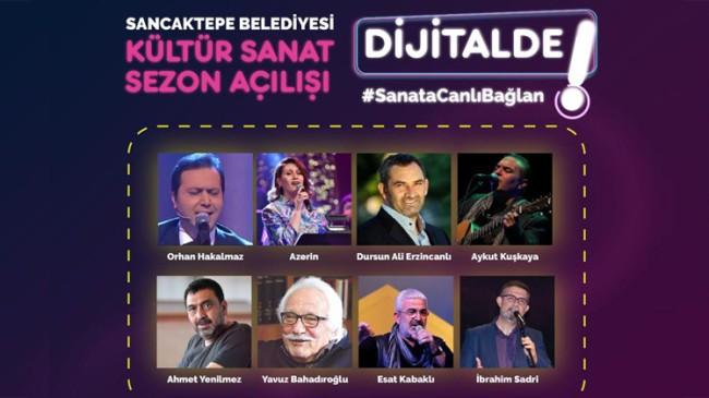 Sancaktepe Belediyesi, Kültür Sanat etkinliklerini dijital ortamla başlattı