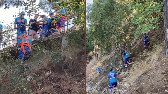Üsküdar Belediyesi, yeşil alanları düzenli olarak temizliyor