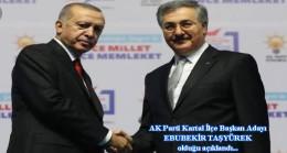 AK Parti Kartal'a tecrübeli bir isim