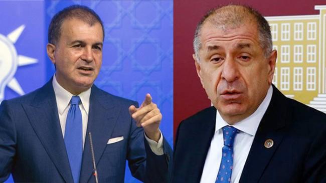 """AK Parti Sözcüsü Ömer Çelik, """"Ümit Özdağ ahlaksız bir yalan söylemiş!"""""""