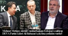 """AK Parti'li Mehmet Metiner, Ali Babacan'a """"Emredersiniz!"""" sözünü hatırlattı!"""