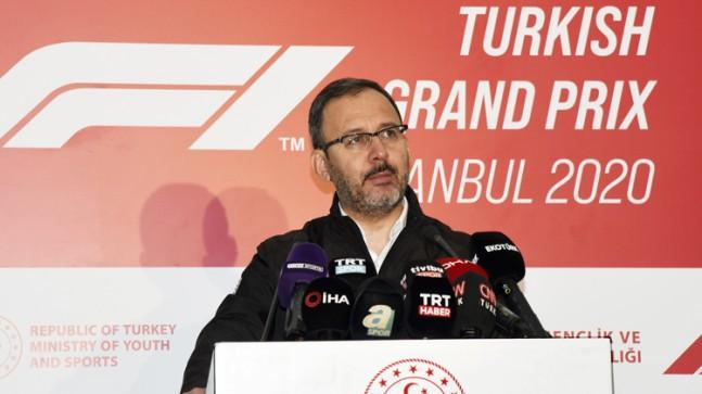 """Kasapoğlu, """"Türkiye artık sporda talep eden değil, talep edilen bir ülke"""""""