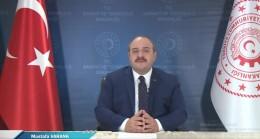 """Bakan Varank, """"Cumhurbaşkanımızın liderliğinde ekonomi politikalarımız hız kesmeden devam edecek."""""""