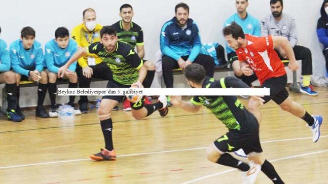Beykoz Belediyespor'dan 5. galibiyet