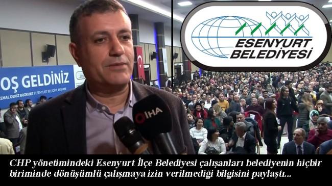 CHP'li Esenyurt Belediyesi suç işliyor, İstanbul Valiliği'ne duyurulur!