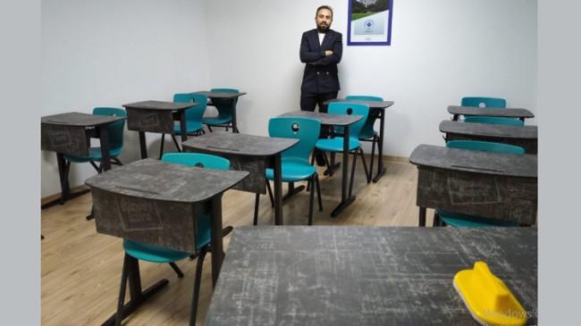 """Eğitimci Ömer Şahan, """"Bu süreçte karşılaşılan zorluklar normal"""""""