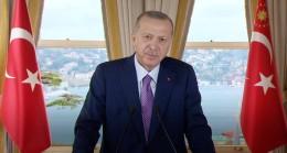 """Erdoğan """"Bu sene sadece Covıd-19 virüsüyle değil ondan daha hızlı yayılan İslam düşmanlığı virüsü ile de mücadele etmek zorunda kaldık"""""""