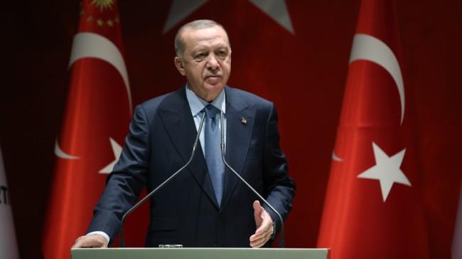 """Recep Tayyip Erdoğan, """"Kendini ulaşılamaz yere koyanlar bulunduğu yerde haksız işgalci demektir"""""""