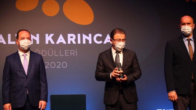 Eyüpsultan Belediyesi'nin 'Bağımsızlık Köyü' projesine Altın Karınca ödülü