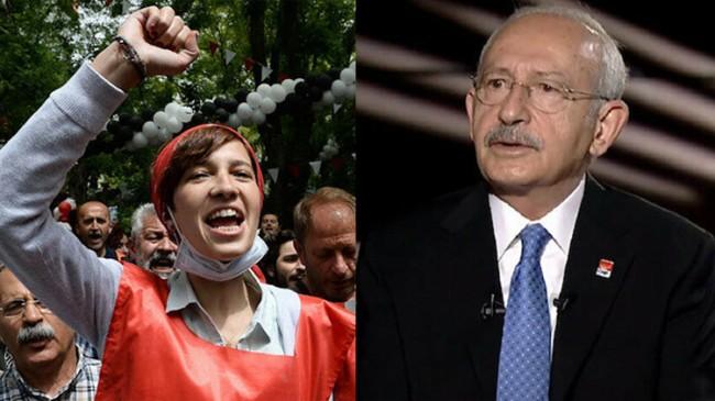 Kemal Kılıçdaroğlu'nun kardeş ilan ettiği Nuriye Gülmen terörist arşivinden çıktı (!)