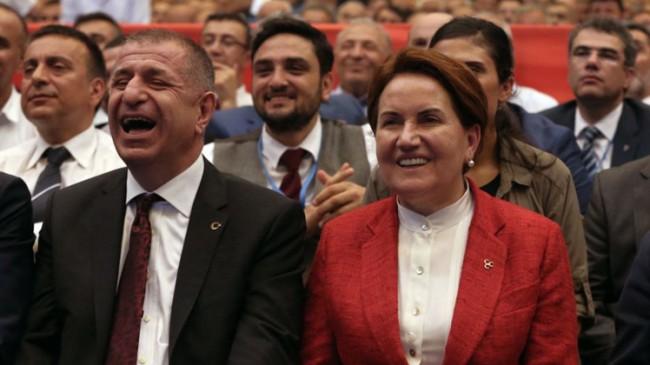 """Özdağ, """"Meral Akşener kurmaylarından habersiz HDP ile anayasa pazarlığı yaptı!"""""""