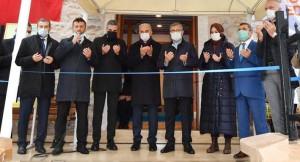 Restorasyonu tamamlanan tarihi Burhaniye camii yeniden ibadete açıldı