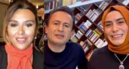 """Şadi-Fatma Yazıcı çiftinden """"Kadına şiddete hayır"""""""