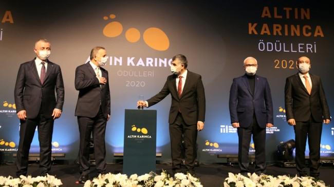 Sultanbeyli Belediyesi'ne Altın Karınca ödülü