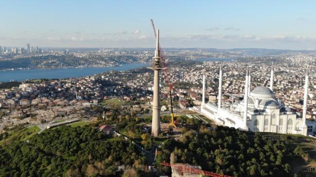 TRT verici kulesi de sökülüyor