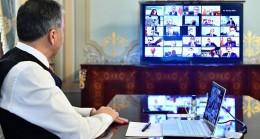Vali Yerlikaya, video konferansla Filyasyon toplantısını gerçekleştirdi