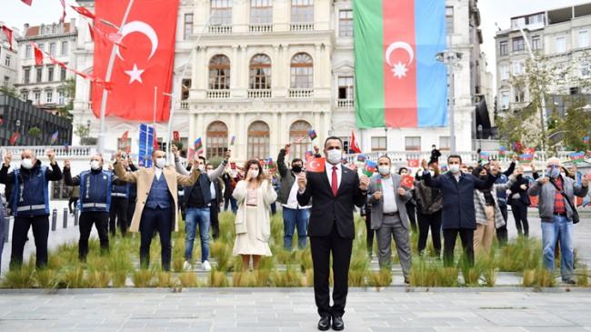 """Yıldız, """"Türkiye ve Azerbaycan halklarının kardeşliği ilelebet devam ettirecektir"""""""