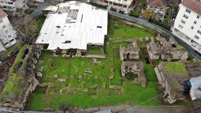 Sancaktepe'de bulunan Saray, Roma İmparatorluğu'na Başkentlik yapmış