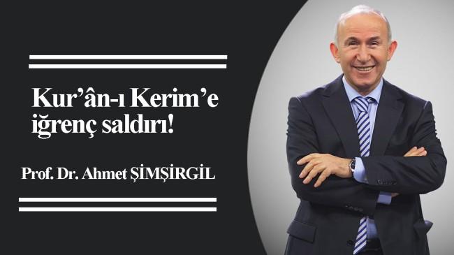 Ahmet Şimşirgil hoca, İslam sapığı Mustafa Öztürk'ü köşesine taşıdı