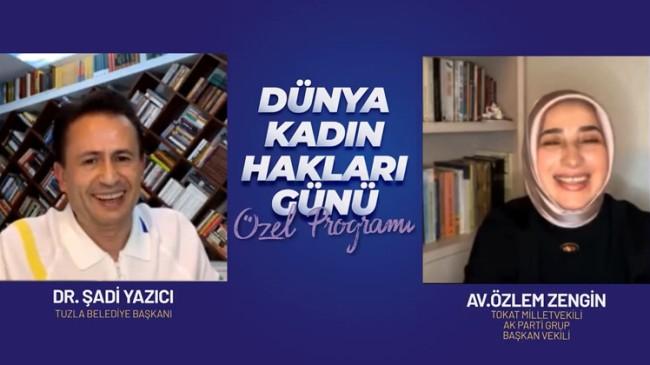 AK Parti Grup Başkanvekili Özlem Zengin, Başkan Yazıcı'nın Instagram konuğu oldu