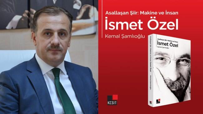 """Kemal Şamlıoğlu'nun """"Asallaşan Şiir: Makine ve İnsan"""" isimli kitabı raflarda"""
