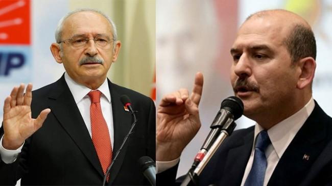 """Bakan Soylu, """"Kılıçdaroğlu dinleniyorsa savcılığı suç duyurusunda bulunsun"""""""