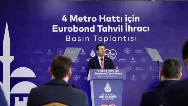Başkan İmamoğlu, yurt dışından metro inşaatları için parayı buldu