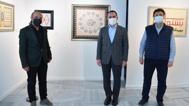 Beyoğlu'nda Meşk-i Mevlâna sergisi açıldı
