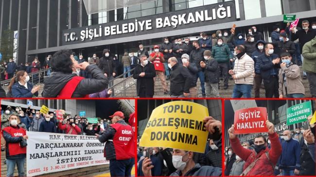 CHP'li Şişli Belediyesi, kendi çalışanlarının kazanımlarını gasp ediyor!