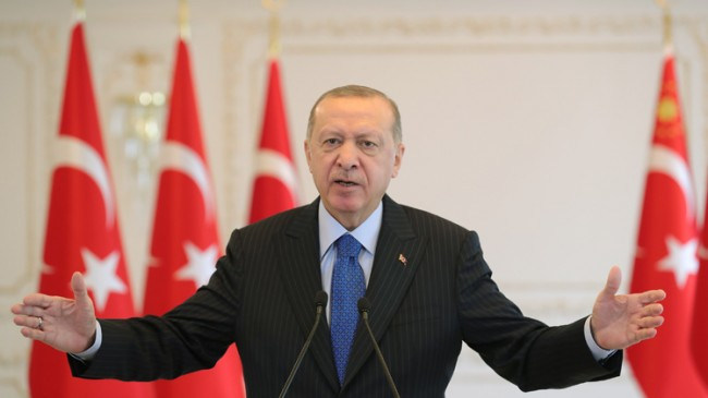 """Erdoğan, """"Sizleri hayal kırıklığına uğratmaya devam edeceğiz"""""""