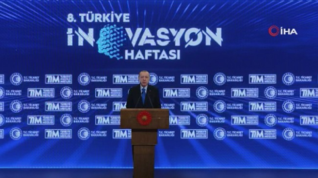 Erdoğan'dan Türkiye İnovasyon Haftası programına videolu mesaj