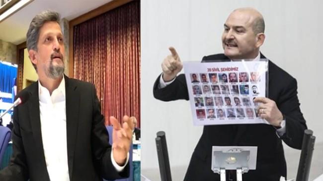 """HDP'li Garo Paylan, """"Süleyman Soylu ruh sağlığımızı bozuyor!"""""""