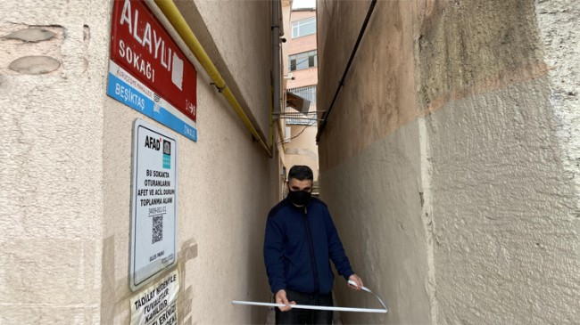 İstanbul'un en dar sokağı