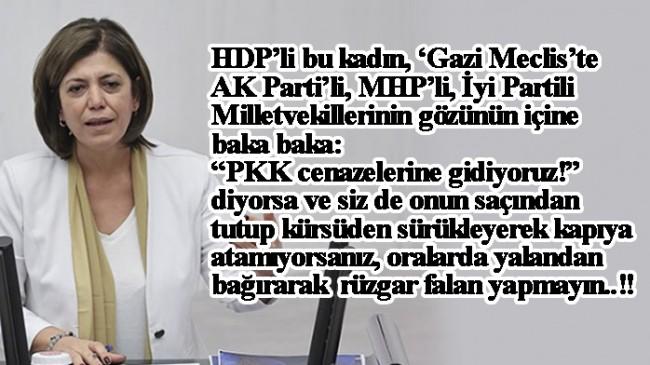 """HDP'li Beştaş, """"Biz PKK cenazelerine gidiyoruz ve ailelerin acısının yanındayız"""""""