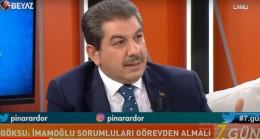 """Mehmet Tevfik Göksu, """"Ekrem İmamoğlu illüzyon siyaseti yapıyor!"""""""