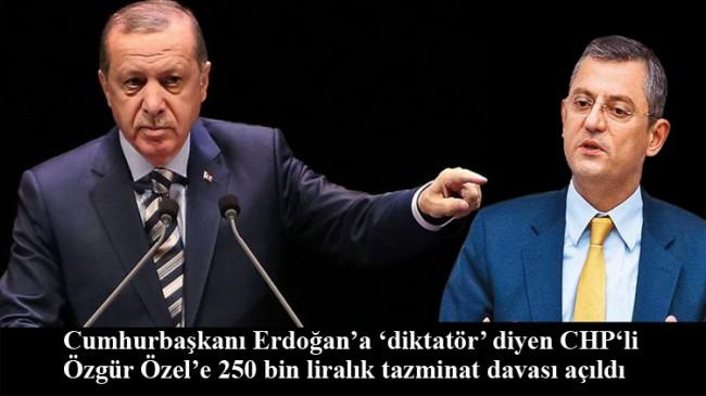 Özgür Özel'in 'diktatör' kelimesi ona pahalıya mal olacak!