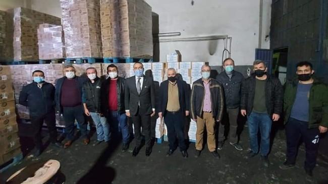 SİNDEF'ten üye derneklerine temizlik malzemesi desteği