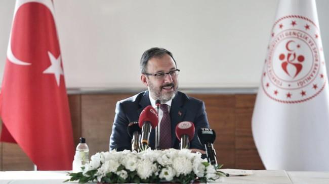 Spor camiasından Bakan Kasapoğlu ve eşine geçmiş olsun mesajı yağdı