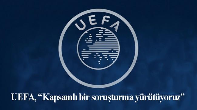 UEFA'dan ırkçılık açıklaması