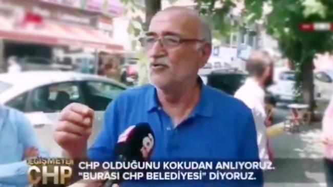 Vatandaşlar, CHP'li belediye olduğunu kokudan anlıyor (!)