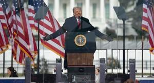 ABD Başkanı Donald Trump: 'Asla pes etmeyeceğiz. Asla boyun eğmeyeceğiz'