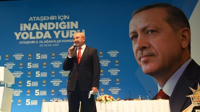 AK Parti'nin tecrübeli ismi İsmail Erdem, Ataşehir İlçe Başkanı oldu