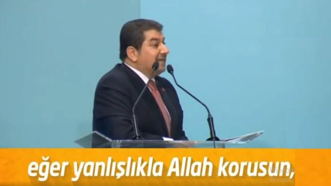 """Başkan Göksu, """"Allah korsun, CHP'ye fırsat verildiğinde var ya…!!!"""""""