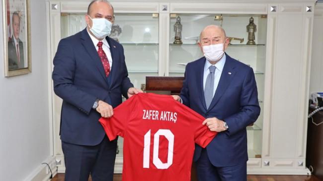 Başkan Özdemir, İstanbul Emniyet Müdürü Zafer Aktaş'ı ziyaret etti