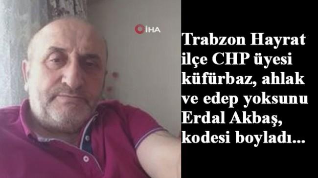 CHP'li kufurbaz Erdal Erbaş, tutuklandı