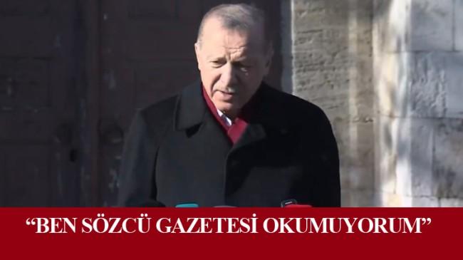 """Cumhurbaşkanı Erdoğan, """"Ayasofya 2020 yılının adeta taçlı yıldızıdır."""""""