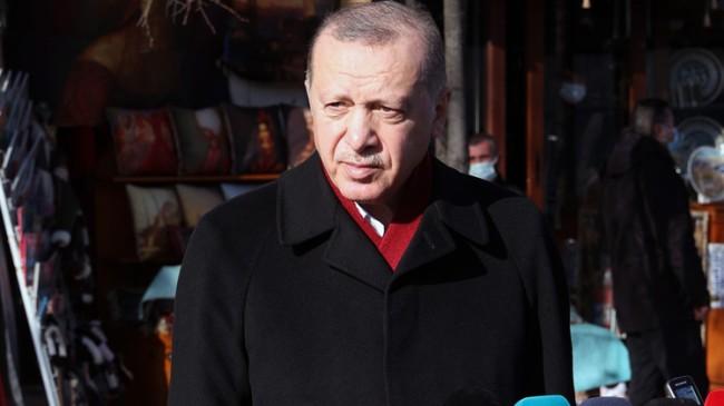 """Cumhurbaşkanı Erdoğan, """"Fikri Sağlar'ın sözleri CHP zihniyetinin faşizan anlayışının yansımasıdır"""""""