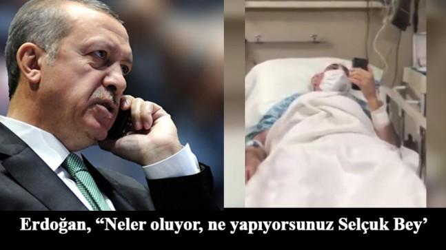 Cumhurbaşkanı Erdoğan'dan Selçuk Özdağ'a geçmiş olsun telefonu